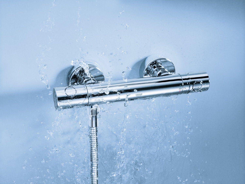 Grohe 34065 Grohterm - Termostato de ducha: Amazon.es: Bricolaje y ...