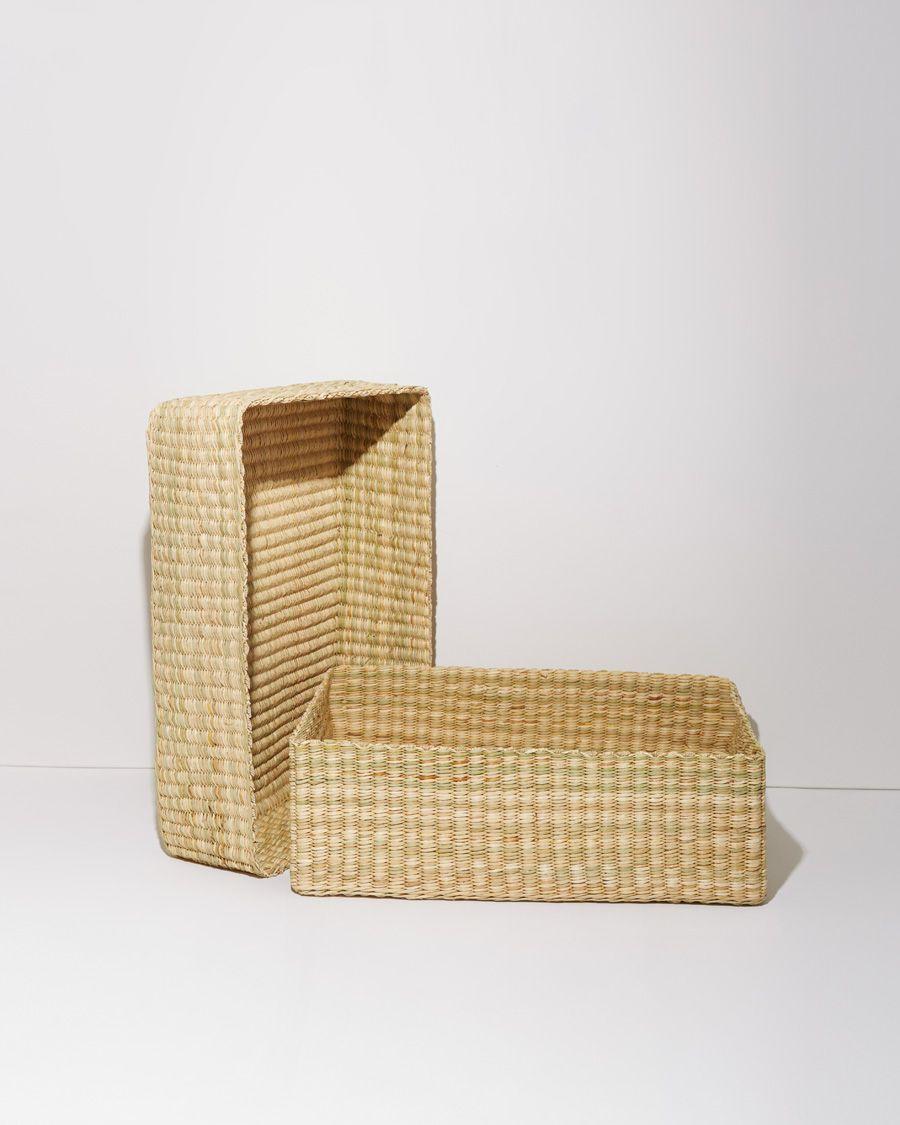 A Détacher Woven Reed Box