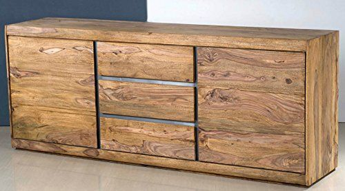 Sideboard Anrichte Kommode Indian Spirit Sheesham Massiv Gebeizt
