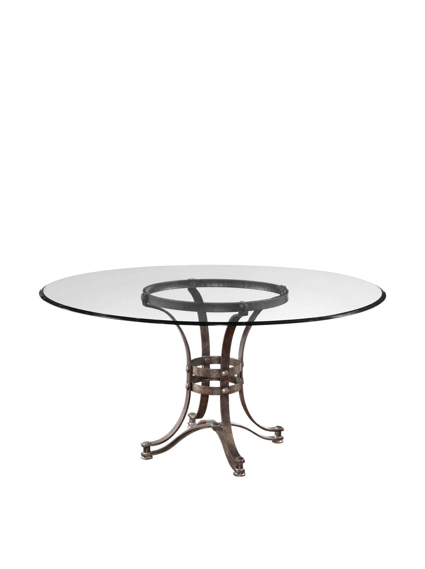 Bassett mirror company carnaby round cocktail leaf new home s - Bassett Mirror Company Tempe Dining Table At Myhabit