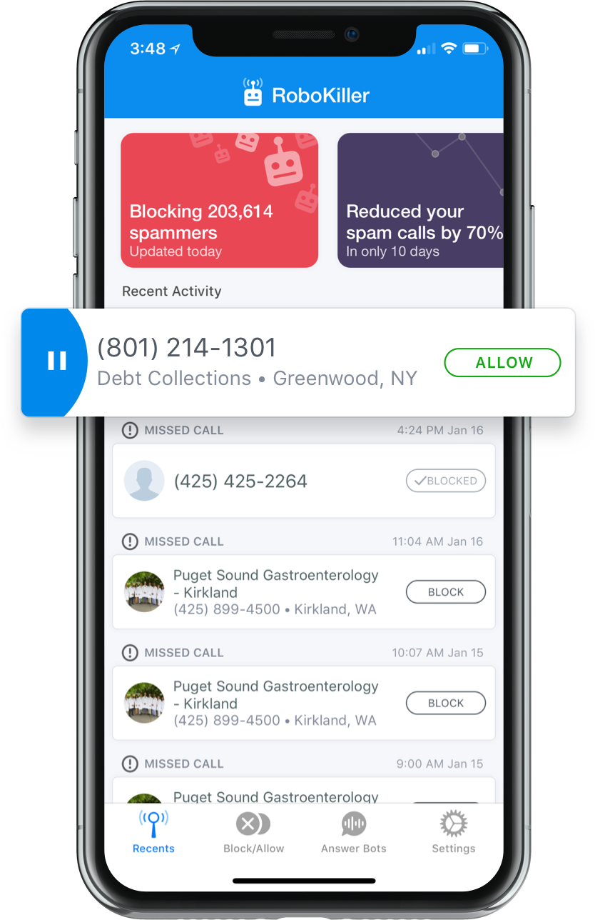 RoboKiller Features Free yourself from robocalls. Forever