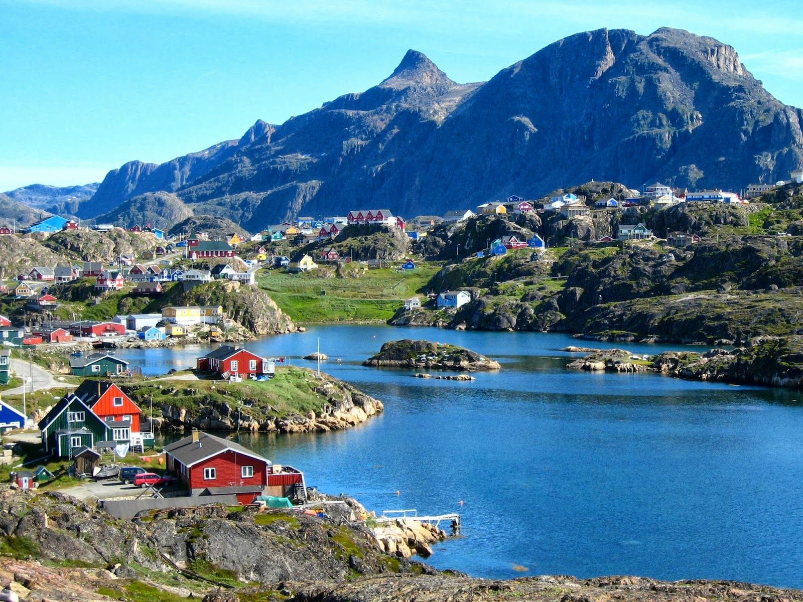 This is Nuuk, Greenland during the summer. | Greenland travel, Nuuk  greenland, Nuuk