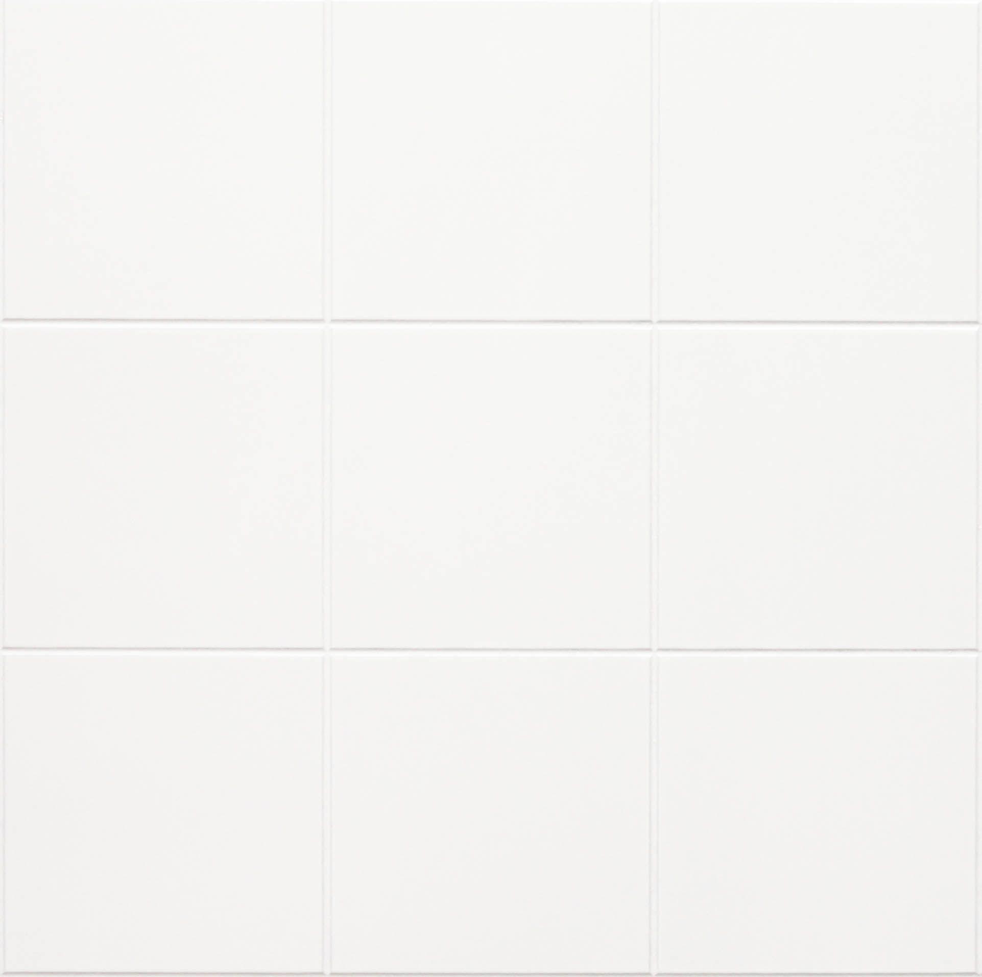 White Tile Wall Paneling 1 22mx2 44mx3mm 10cmx10cm Scored Grooved Tiles Fsc Cerified Eucatex