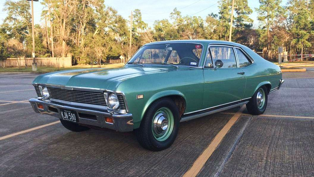 Only 5700 Miles 1968 Chevy Nova Chevy Nova Chevy Chevy Muscle