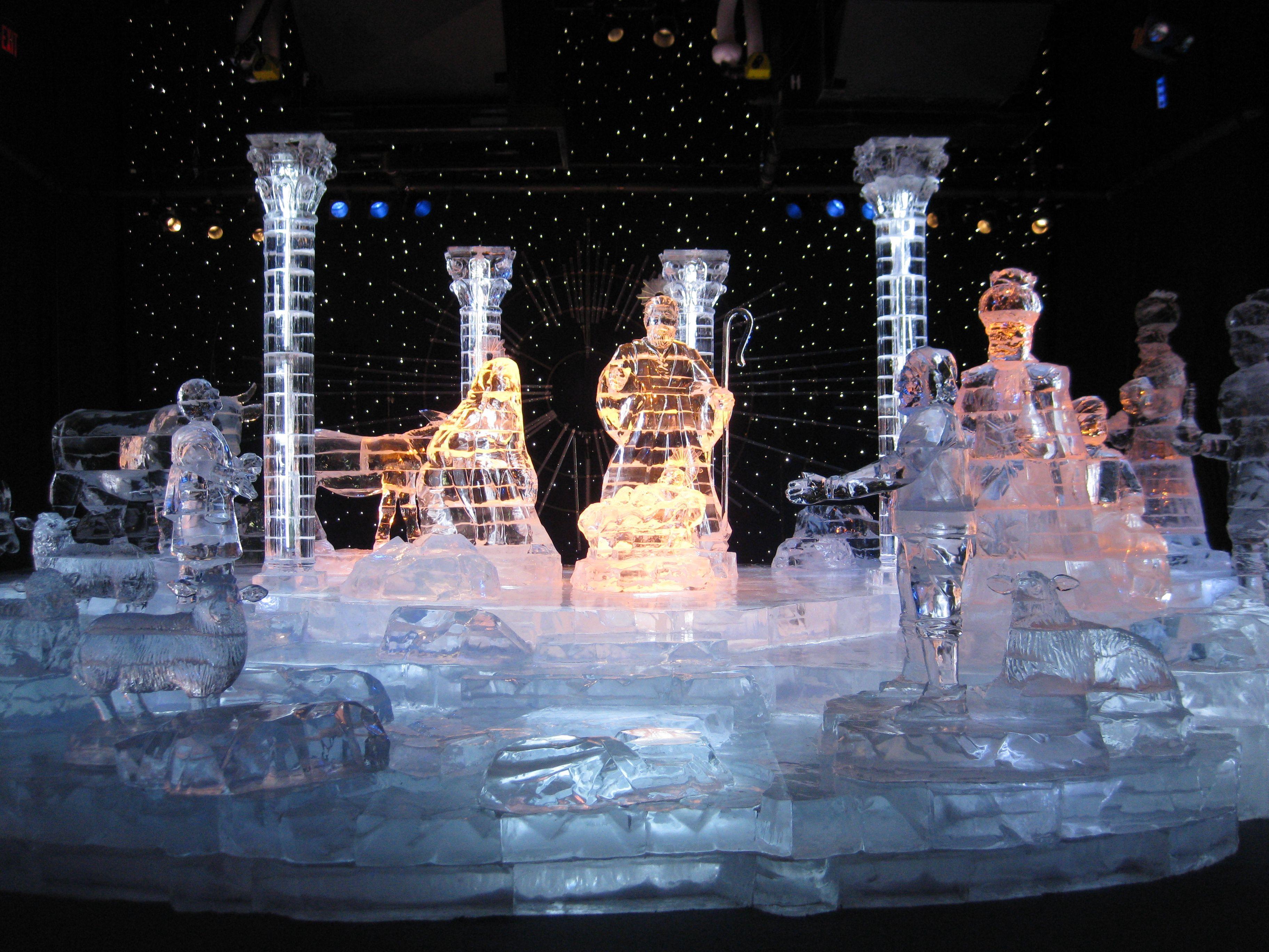 Christmas Ice Sculptures In Nashville Coolest