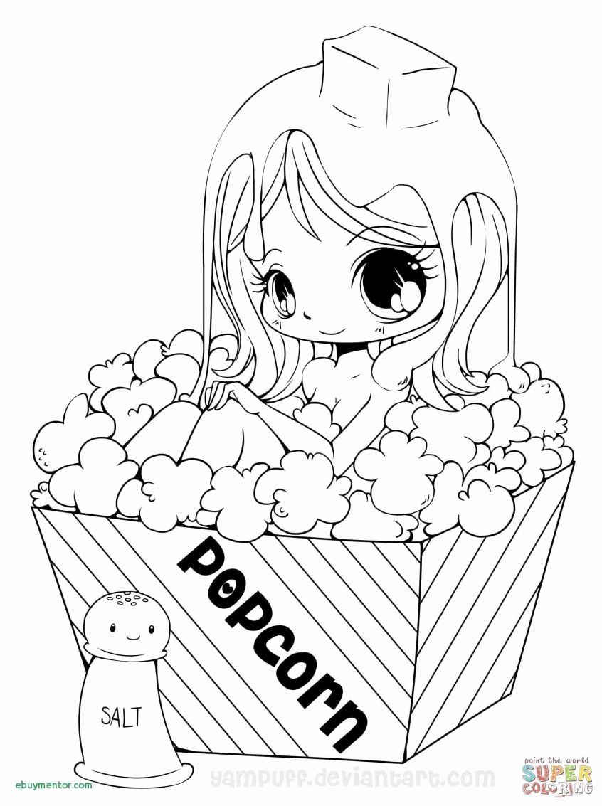 Printable New Year Coloring Pages Inspirational Girly Coloring Printable Coloring Pages For In 2020 Chibi Coloring Pages Cartoon Coloring Pages Princess Coloring Pages