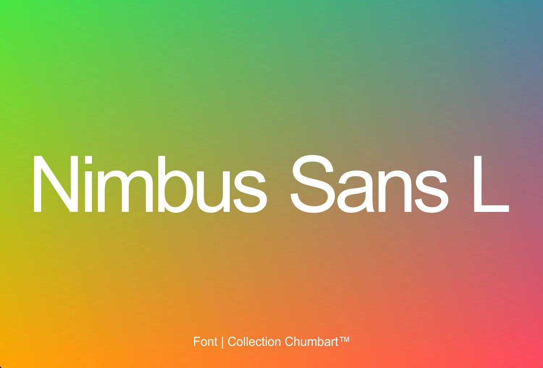 nimbus sans font free