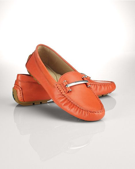 0b7e3cbced9 Leather Caliana Loafer - Ballets and Flats Shoes - RalphLauren.com ...