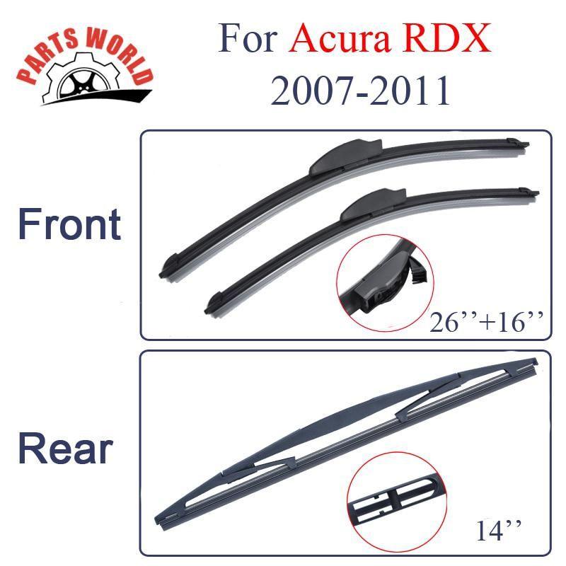 Wiper Blades For Acura Rdx 2007 2011 26 16 Car Wiper