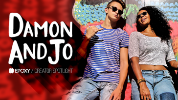 Epoxy's Creator Spotlight Series-–- #DamonAndJo of #ShutUpandGo #YouTube #Creators