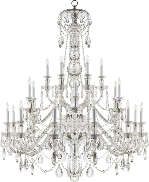 InStyle-Decor.com Beverly Hills Luxury Glass Chandeliers