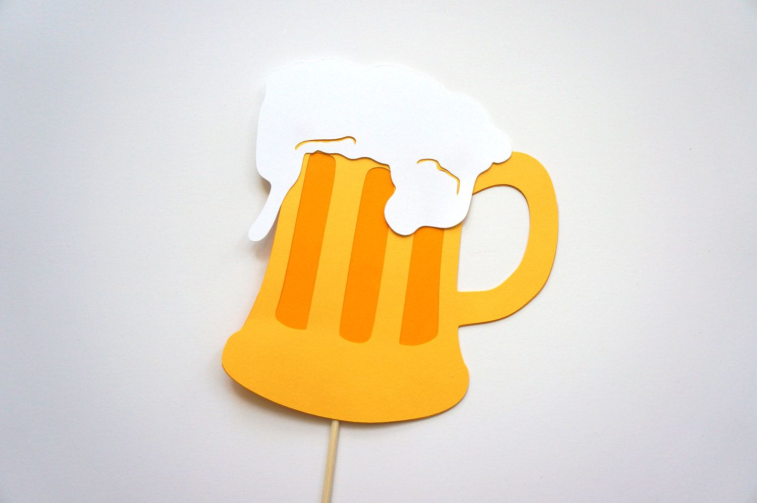wedding photo booth props printable%0A Photo Booth Props  Beer Mug on a stick Photo booth Prop  Fun Photobooth  Props