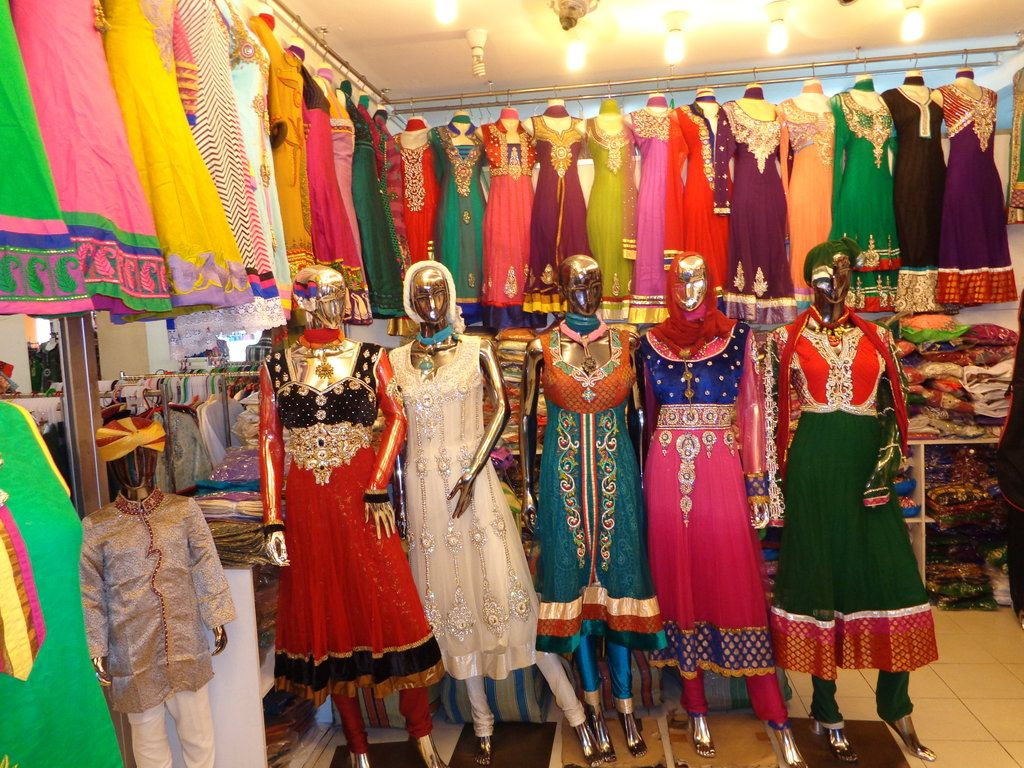 indische kleidung bilder markt/bazar/shop-center tekka