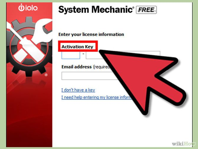 system mechanic activation key email