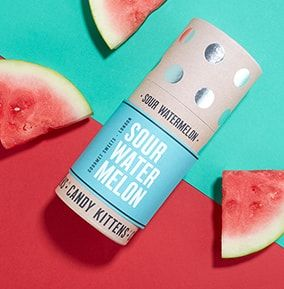 Candy Kittens Sour Watermelon Sweet Tube £6.99 Gifts