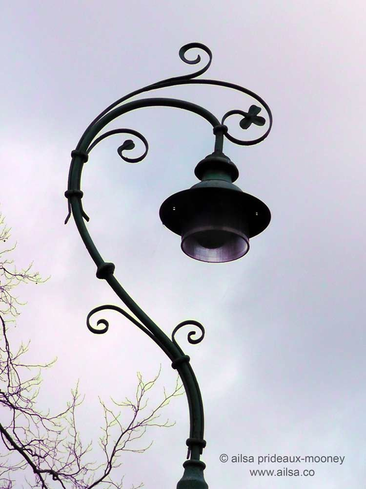 Merrion Square Dublin Old Lamp Posts Dublin Lampposts Old