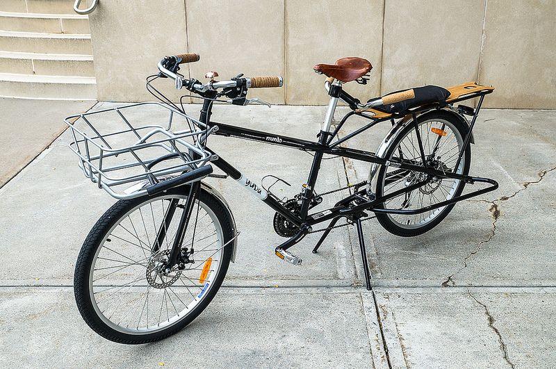 The Yuba Mundo Bread Basket Bicycle Yuba Mundo Cargo Bike