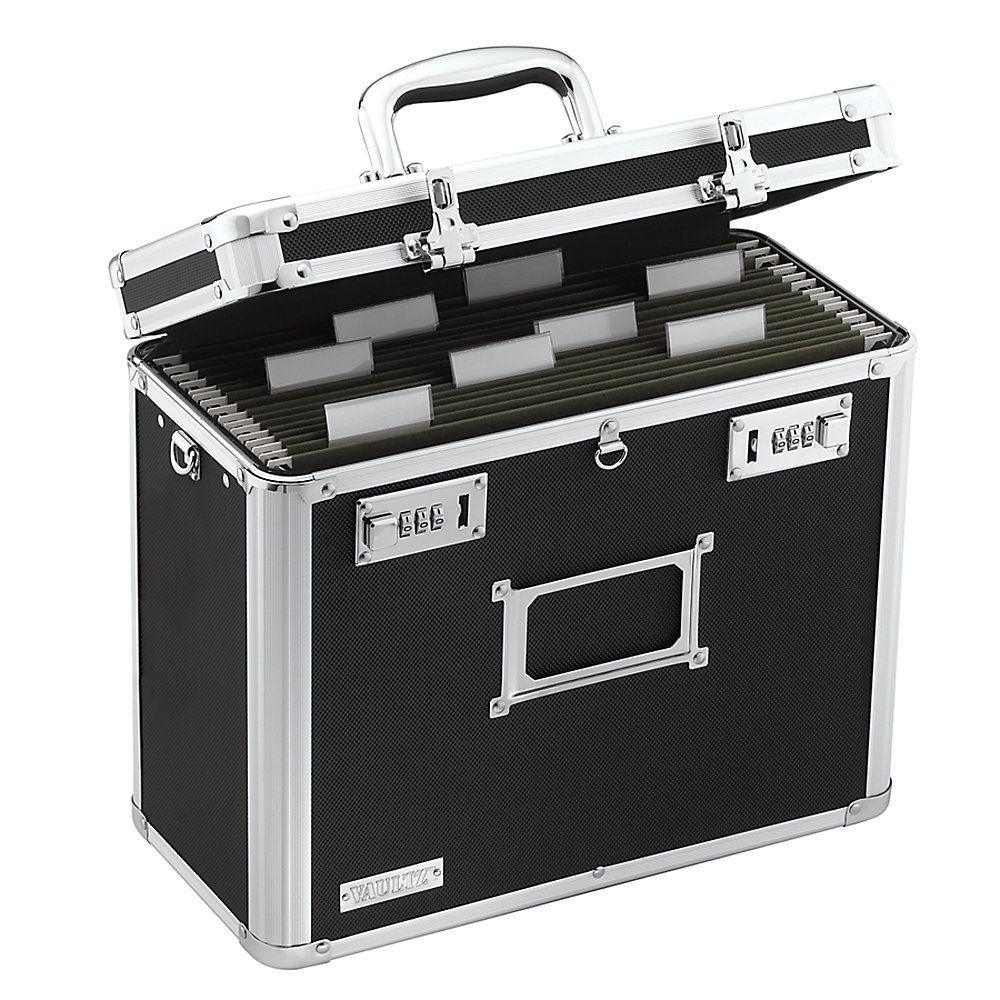 Vaultz® Locking File Tote