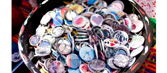 Buttons para lembrancinha de casamento