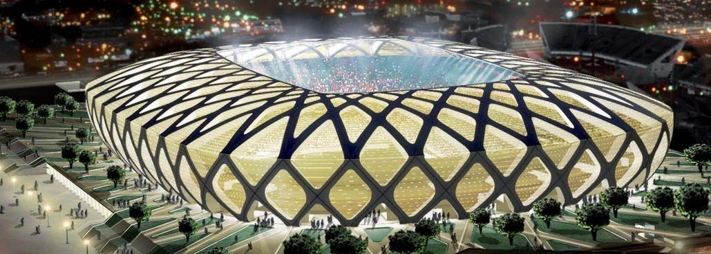 """El estadio de Manaos """"Arena de la Amazonía"""" inaugurado El domingo fue inaugurado el estadio Arena de la Amazonía, que será una de las doce sedes del Mundial de fútbol de 2014, que se va a celebrar en el país carioca."""
