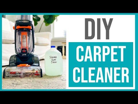 8 Homemade Carpet Cleaner Solution Best Diy Rug Doctor Copycat Youtube Carpet Cleaner Solution Homemade Carpet Cleaner Solution Carpet Cleaner Homemade