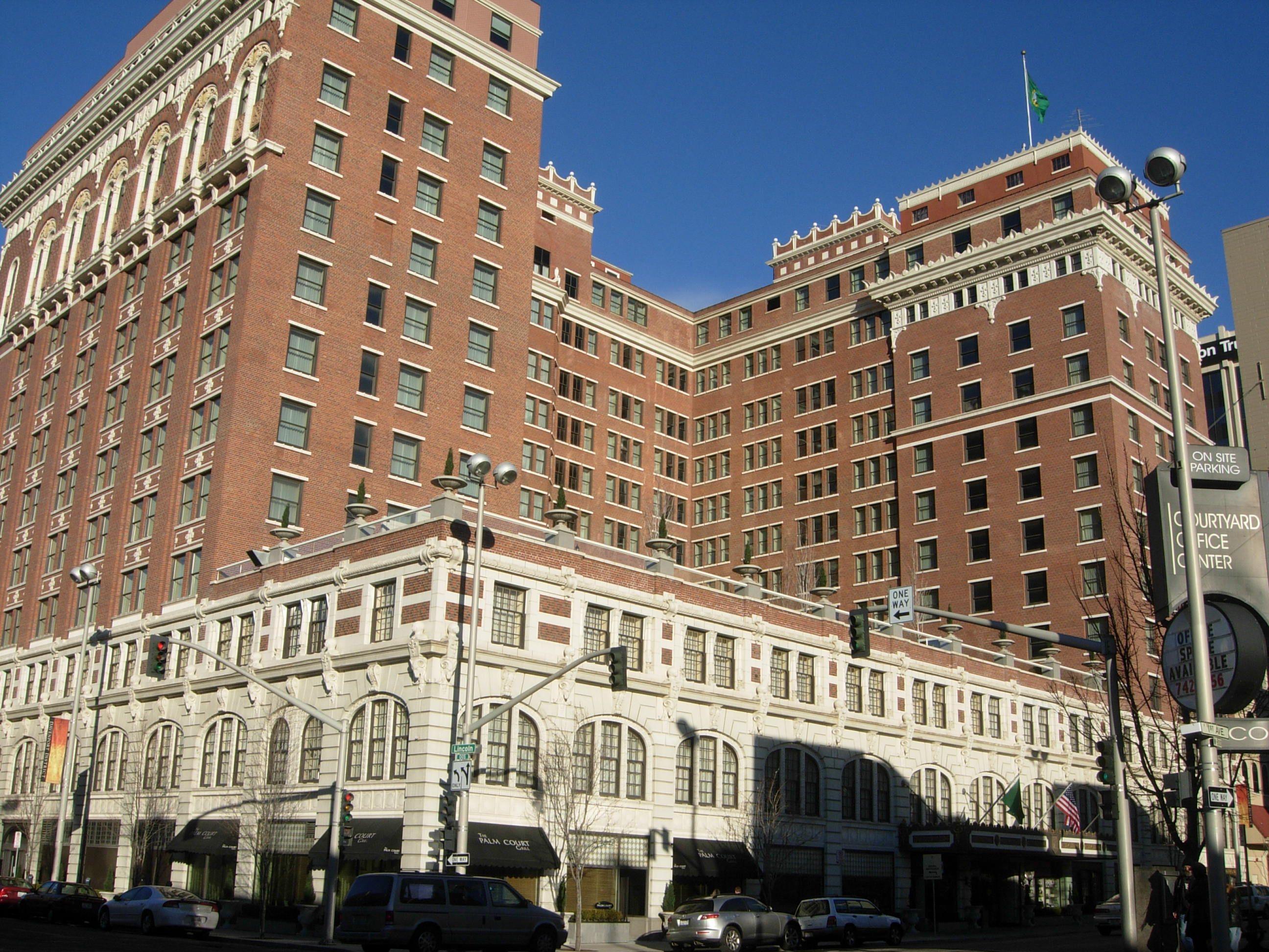 The Historic Davenport Hotel Spokane Wa