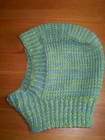 balaclava pattern | green balaclava, again from NDS yarn. I love ...