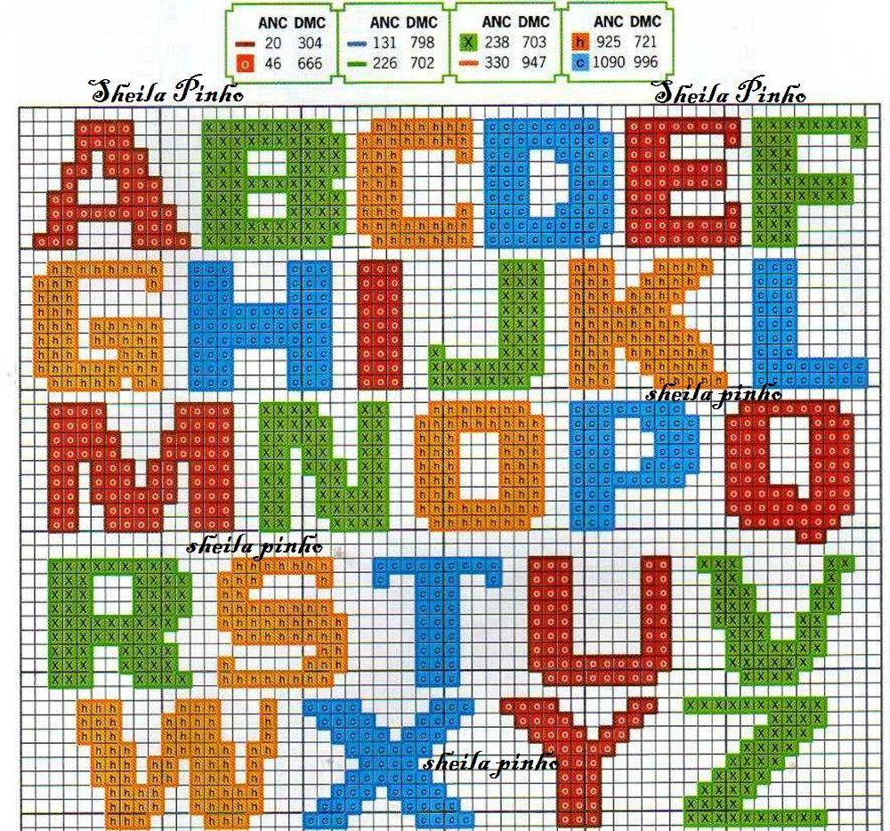 Letras Coloridas おしゃれまとめの人気アイデア Pinterest Janet Chavez アルファベット 文字 ビーズ