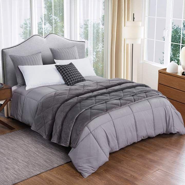 Dream On Velvet Blanket & Down-Alternative Comforter