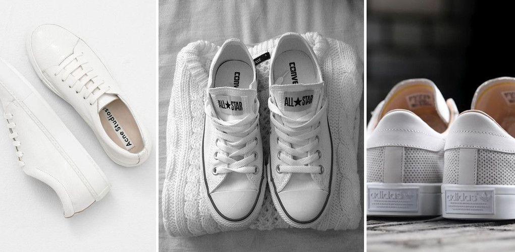 Jak Wyczyscic Biale Trampki 4 Domowe Sposoby By Byly Jak Nowe Sneakers Fashion White Sneaker