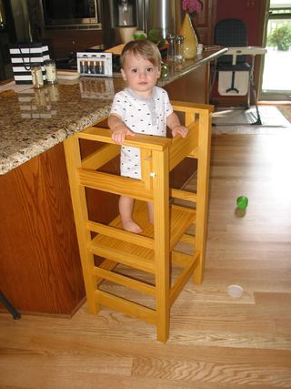 When my daughter asked me to build a learning tower for our grandson I didn't have the slightest idea what she was talking about. I quickly learned that learning...