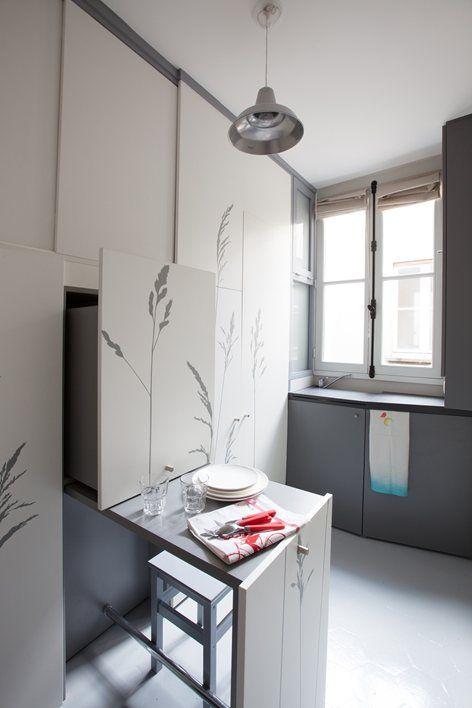 Maid\'s Room Renovation, Paris, 2014 - KITOKO studio | Maid\'s Room ...