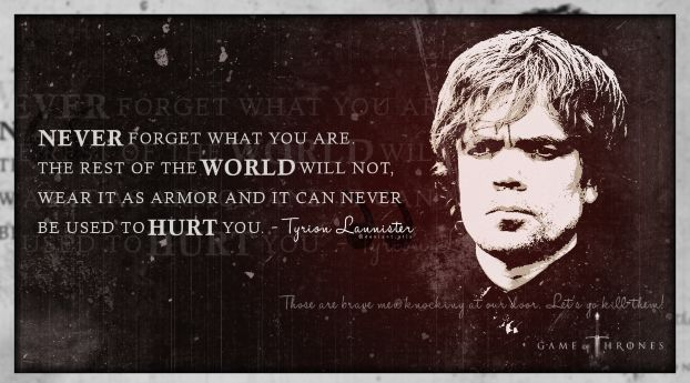 Game Of Thrones Tyrion Widescreen Photoshoot Game of