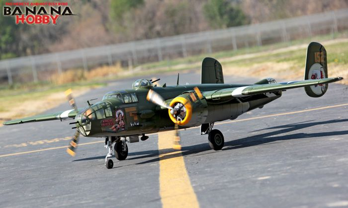 Super B-25 Mitchell Bomber RC Warbird Airplane - Radio Controlled Super B-25  Mitchell Bomber Military Plane - RC f5f73d3f0
