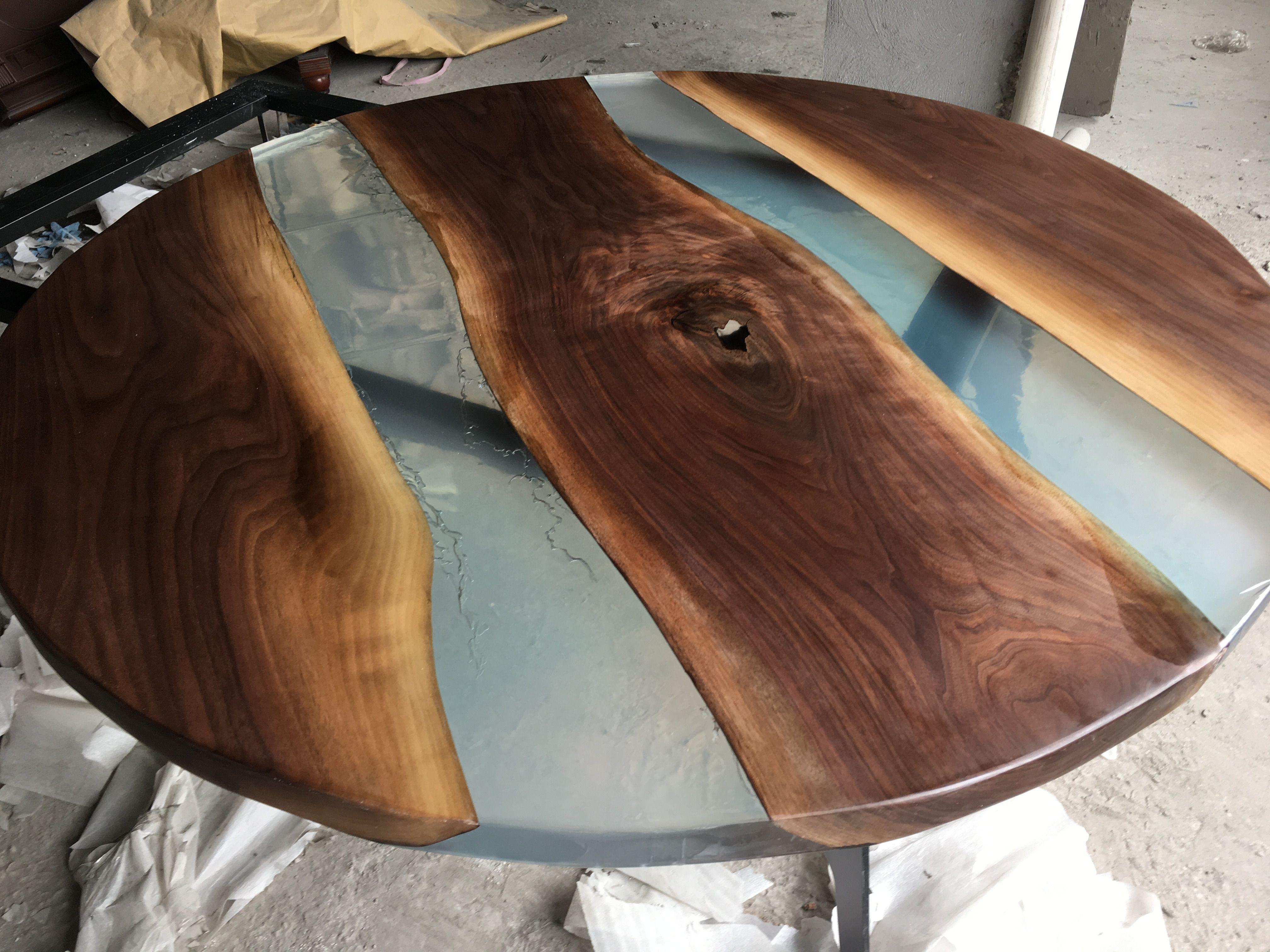 Epoxy Resin Wood Table 8613867774190 Epoxy Resin Wood Wood Table Epoxy Wood Table