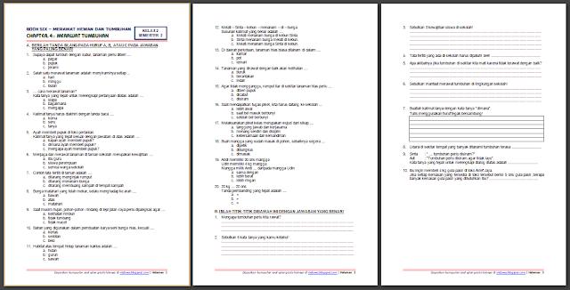 Download Soal Tematik Kelas 2 Semester 2 Tema 6 Subtema 4 Merawat Hewan Dan Tumbuhan Merawat Tumbuhan Edisi Terbaru Kurikulum Belajar Di Rumah Pendidikan
