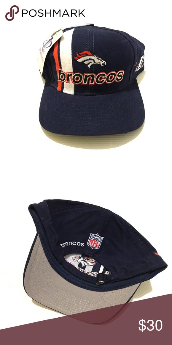 7523a932979d0 Vintage Denver Broncos Hat. Brand New with Tags Logo 7 Vintage Denver Broncos  Hat. Classic 90s. OSFA Accessories Hats