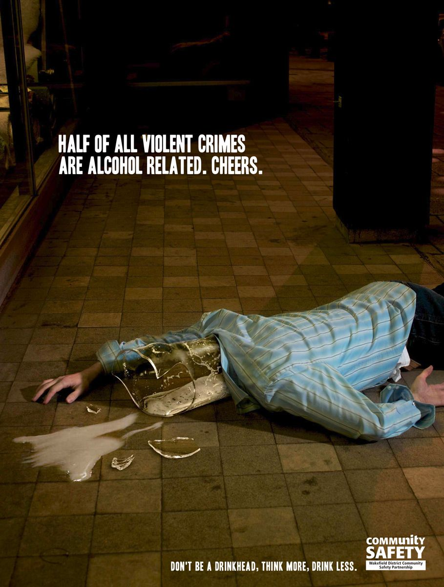 photo manipulation ad targeting binge drinking i think this ad photo manipulation ad targeting binge drinking i think this ad series is another one from