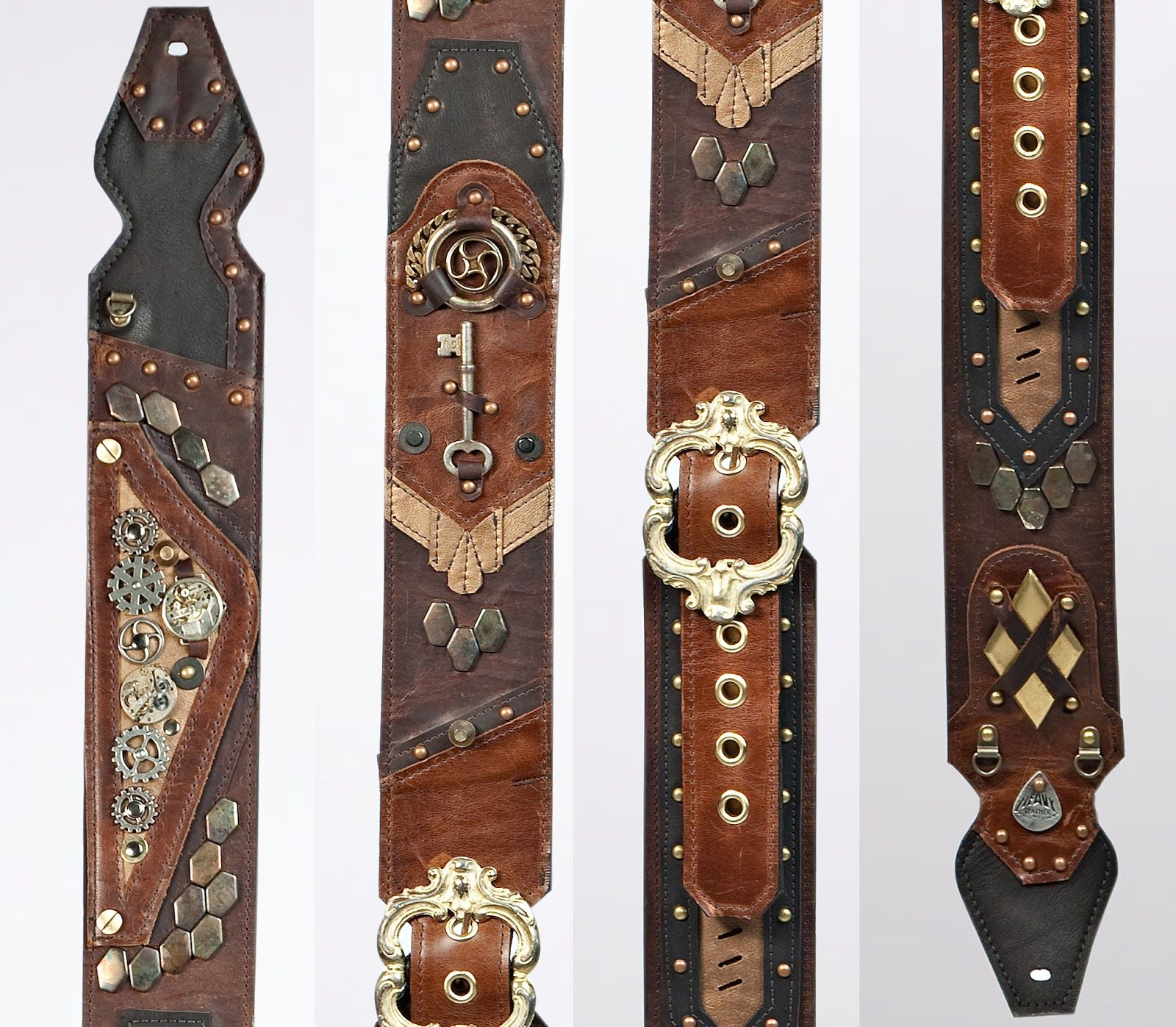 guitar strap heavy leather nyc guitar straps pinterest guitars