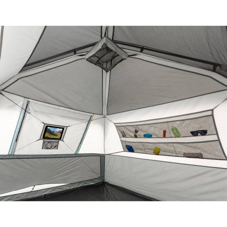 Ozark Trail 10u0027 x 9u0027 x 66  6-Person Instant Cabin Tent  sc 1 st  Pinterest : ozark trail tent 6 person - memphite.com