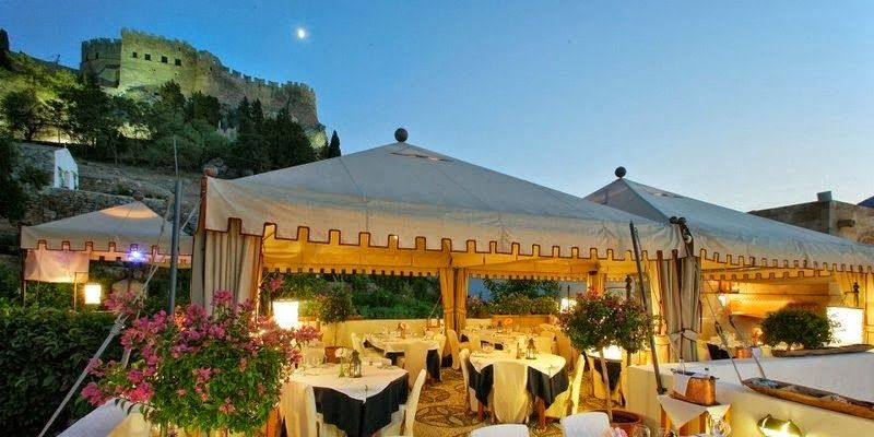 Melenos Lindos Hotel Situated On The Greek Island Of Offers Luxury Accommodation Overlooking Aegean Sea