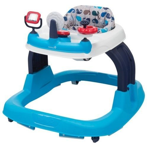 Baby Walker Blue Nautical Theme Activity Center Child Development Toys Songs