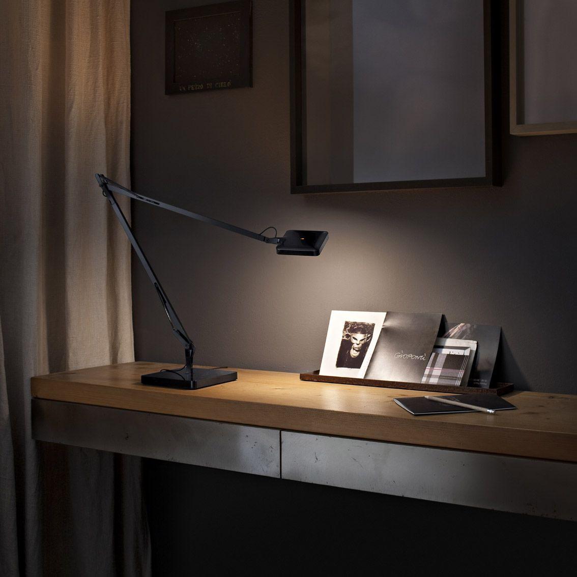 Kelvin Led Green Mode I Table Lamp With Light Adjusting Sensor Flos Table Lamps Adjustable Desk Lamps Table Lamp