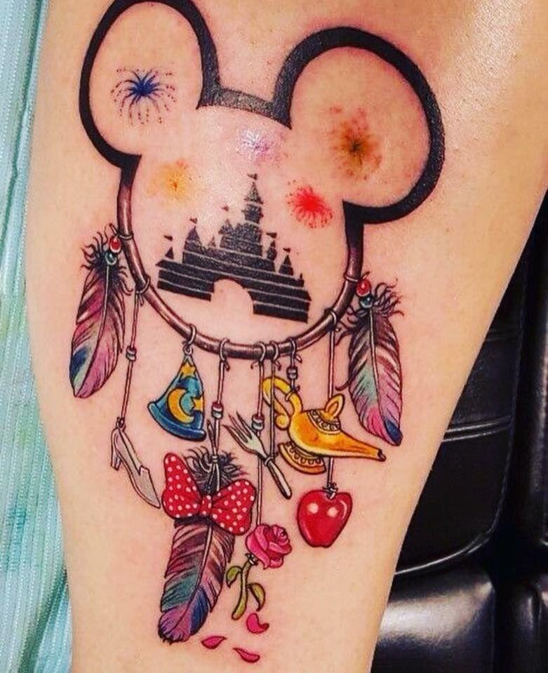 Disney Dream Catcher Tattoo : disney, dream, catcher, tattoo, Disney, Dream, Catcher, Tattoo, Mouse, Tattoos,, Bohemian, Tattoo,, Tattoos