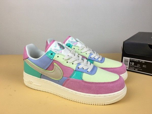 free shipping 4f0f9 ada83 How To Buy Nike Air Force 1 Low Easter Egg Ice Blue Sail Hyper  Turquoise-Barely Volt