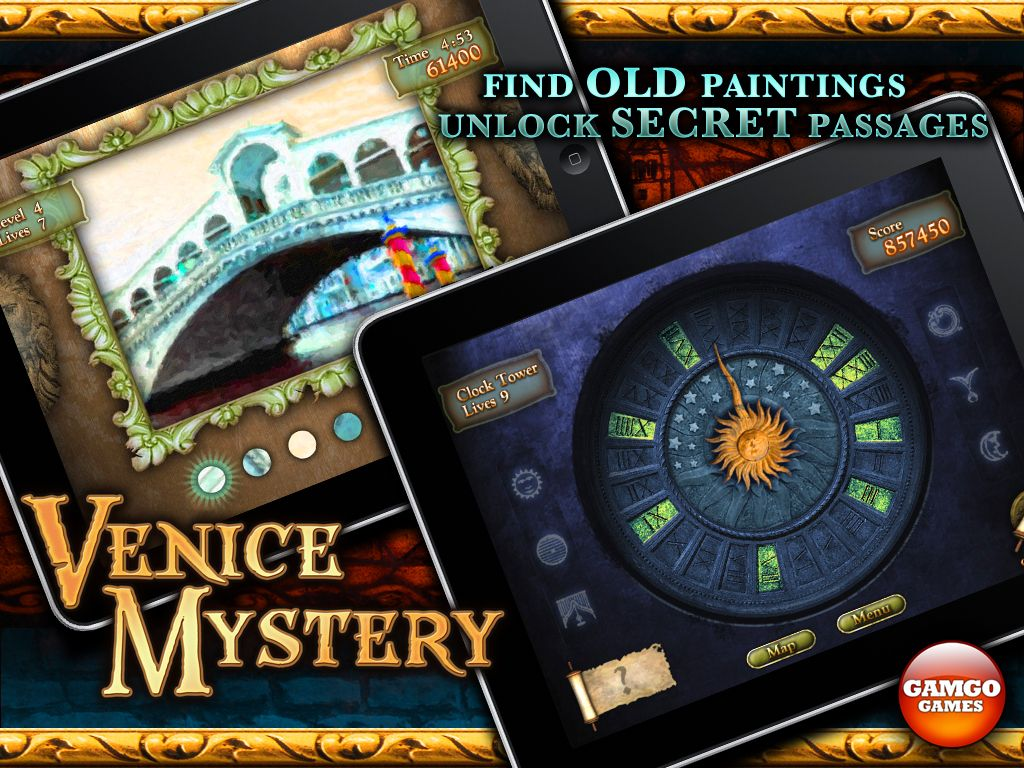 Solve puzzles and discover lost paintings. Ipad games