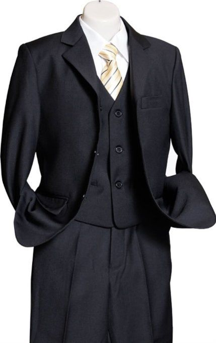 Amazon.com: AMERICAN EXCHANGE Boys Solid 3 Piece Suit - SD040: Clothing