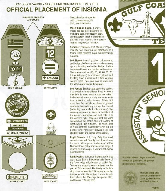 Everything you need to know about the merit badge sash.