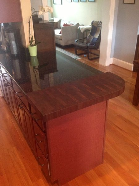 Walnut End Grain Butcher Block Countertop Enjoy The Elegance And