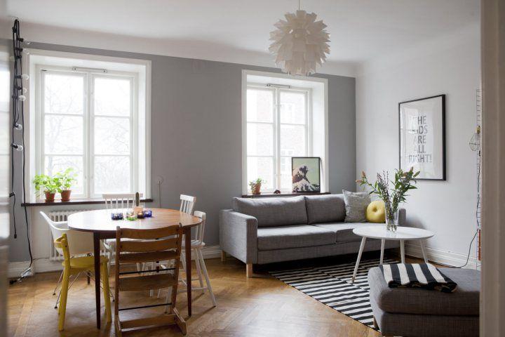 Nos gustan las viviendas con decoración sencilla | Estilo nórdico ...